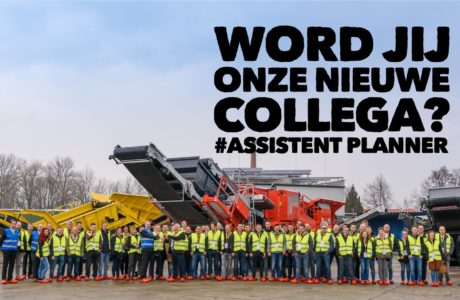 Vacature assistent planner